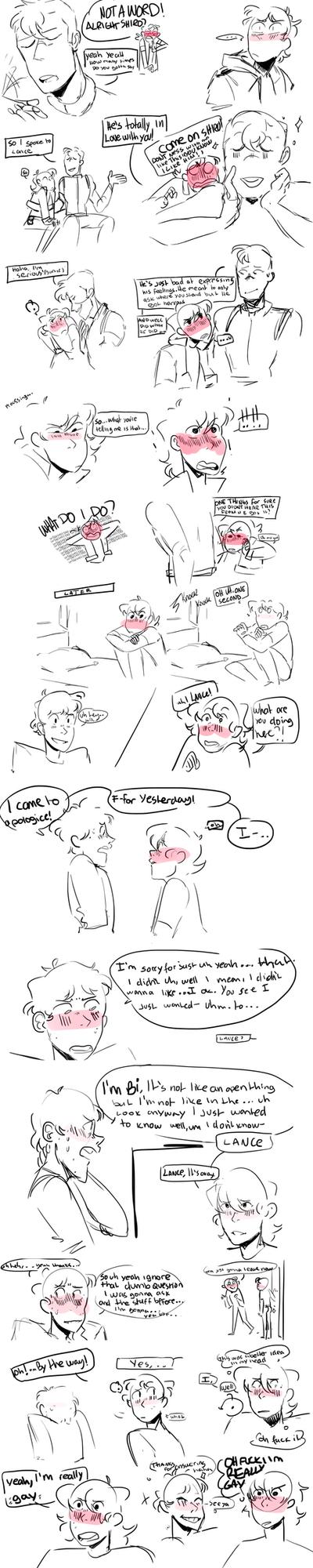 Tfw u yell gay at ur cursh part 2/?? by KitsuneZakuro