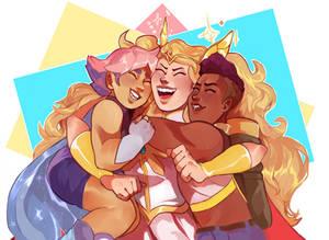 SHE-RA - The Best Friend Squad! {SPEEDPAINT}