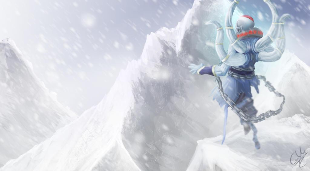 winter is coming ethreain the lich dota2 by boagnir on