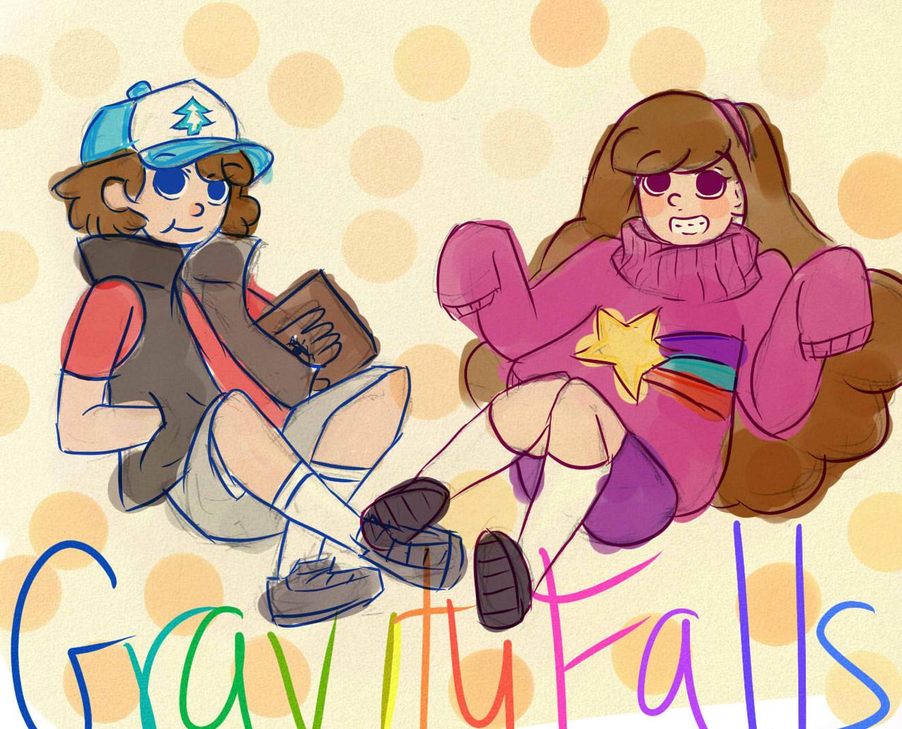 Gravity Falls by Lexy-06