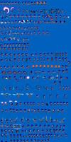 Sonic Sprite Sheet Update Feb 21