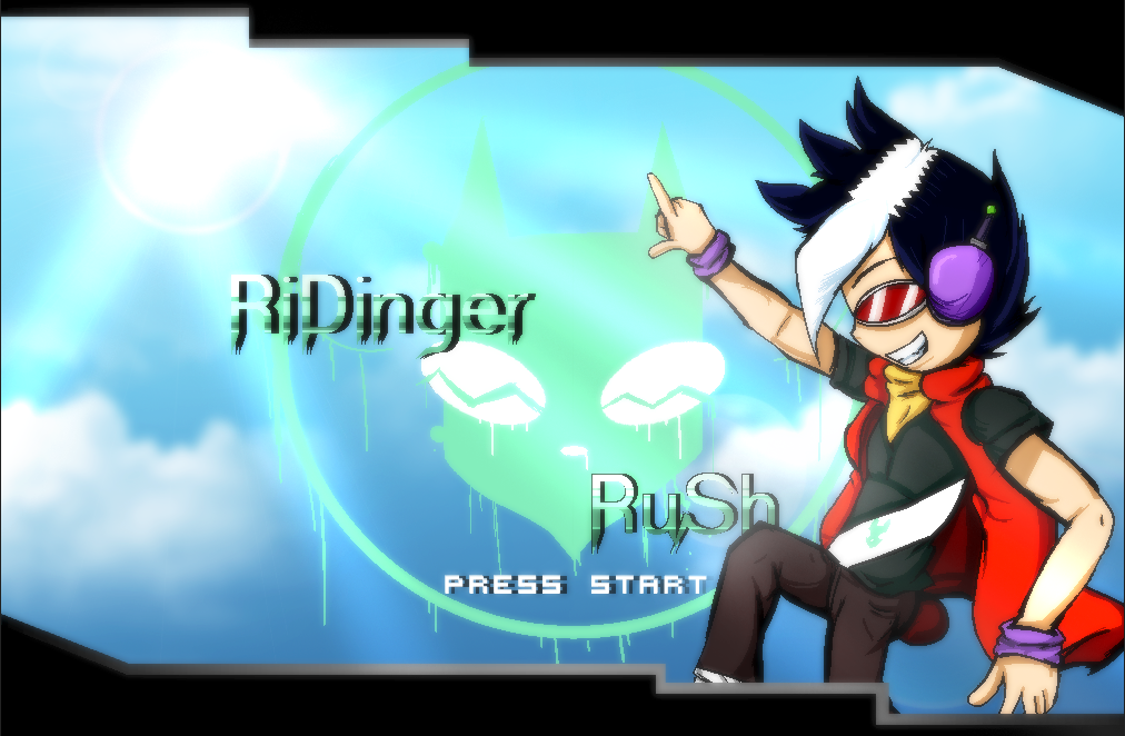 RiDinger Rush Press Start by parrishbroadnax