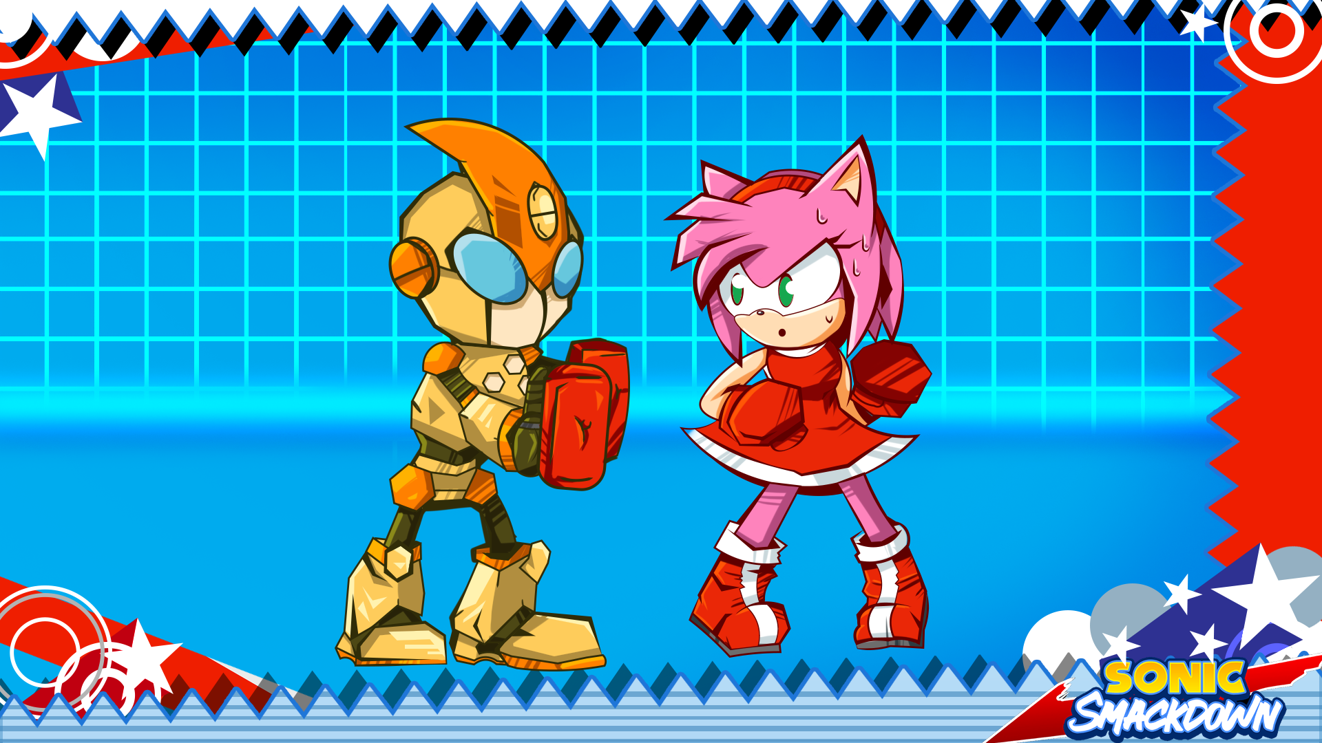 Training Day Sonic Smackdown By Parrishbroadnax On Deviantart We claim no copyright to any character or reference in the game. training day sonic smackdown by