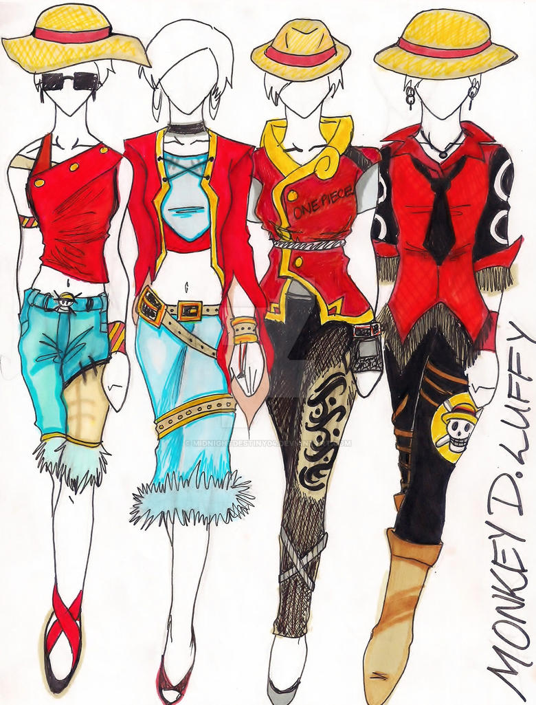 One Piece Inspired Fashion