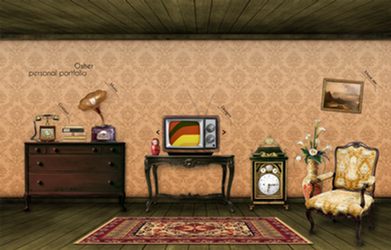 Retro room portfolio by osher