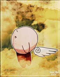 Kirby Winged Angel by Genki-JAM