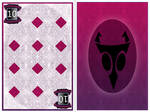 Invader Zim poker game-  10 of diamonds