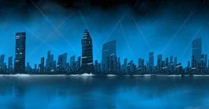 Night lights ~ city scape.