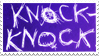 Knock-knock stamp by FiestaTB