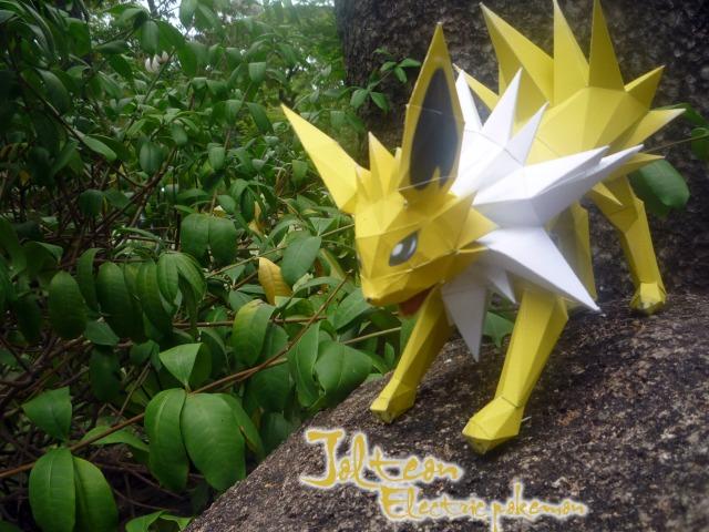 Jolteon - Thunder Eevee by Toshikun