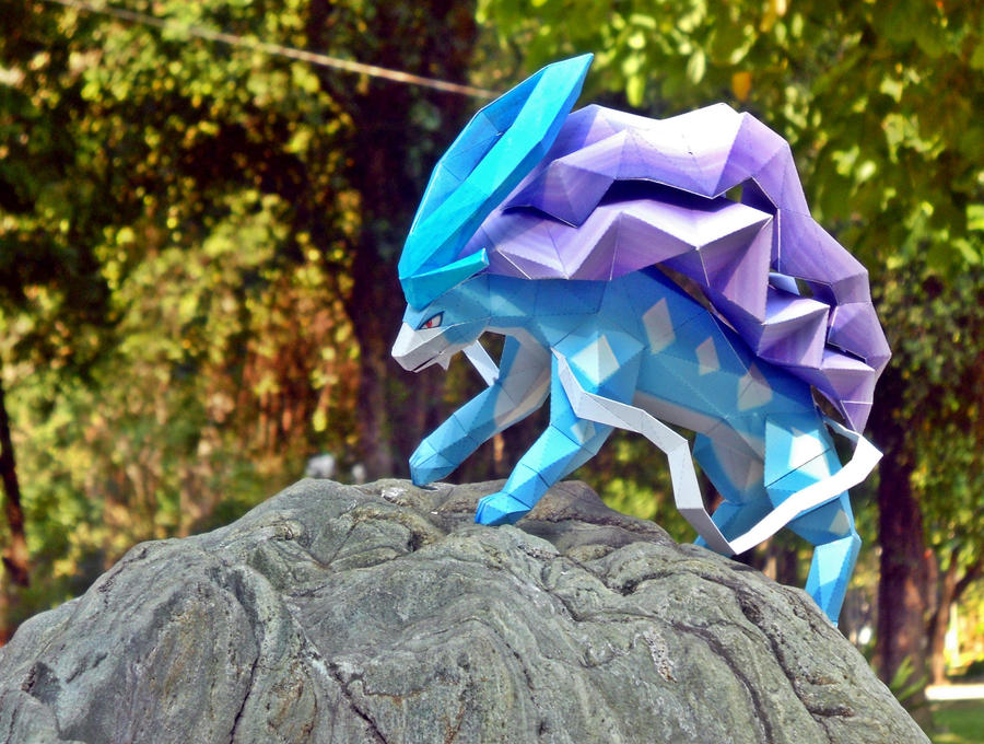 Suicune -- On the moutain high by Toshikun