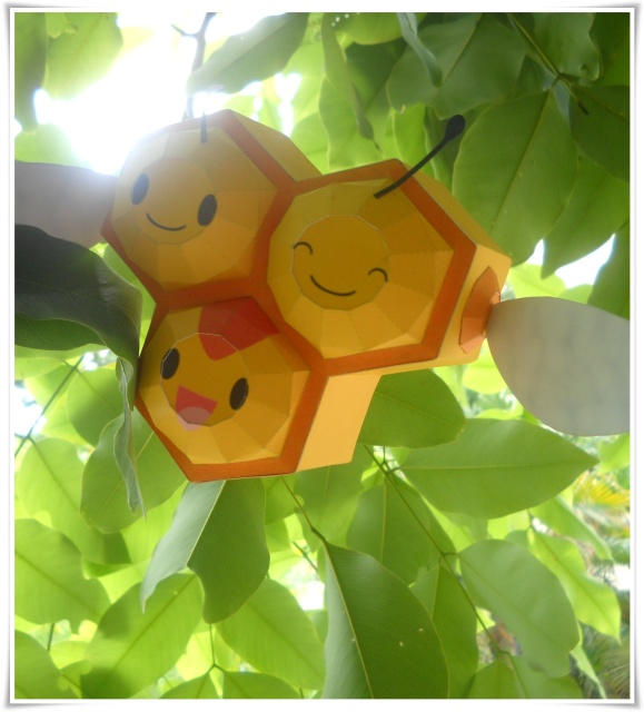 Combee in the sunny day