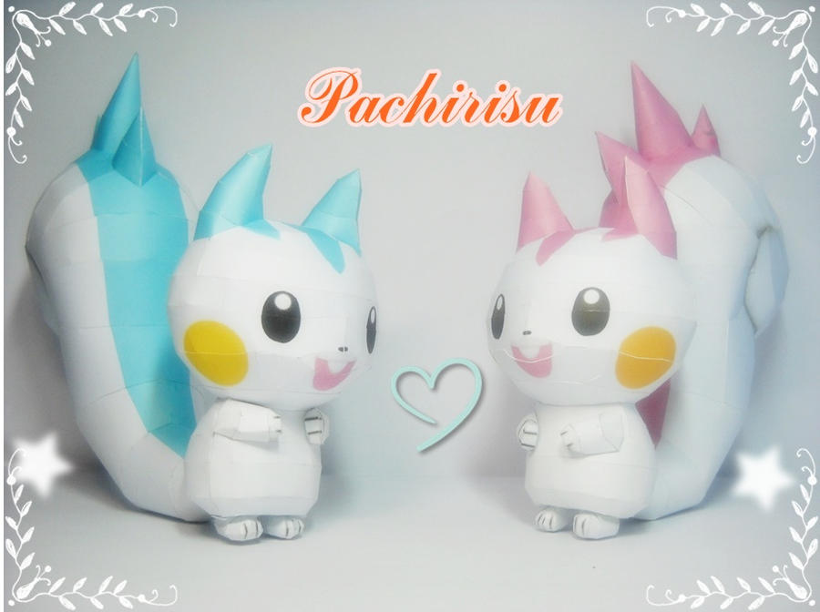 Pachirisu - Couple times by Toshikun