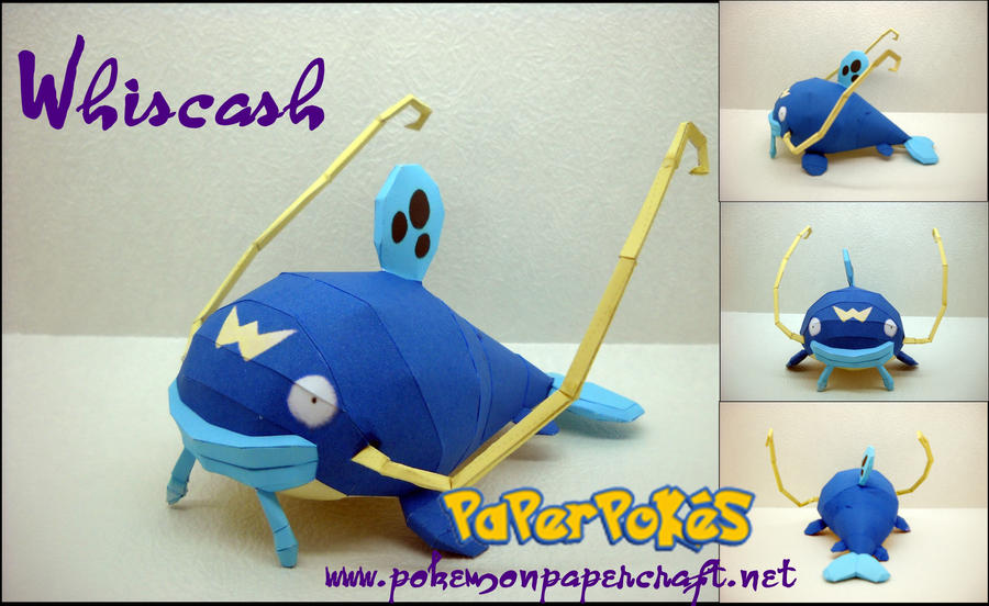 Whiscash - offical picture by Toshikun