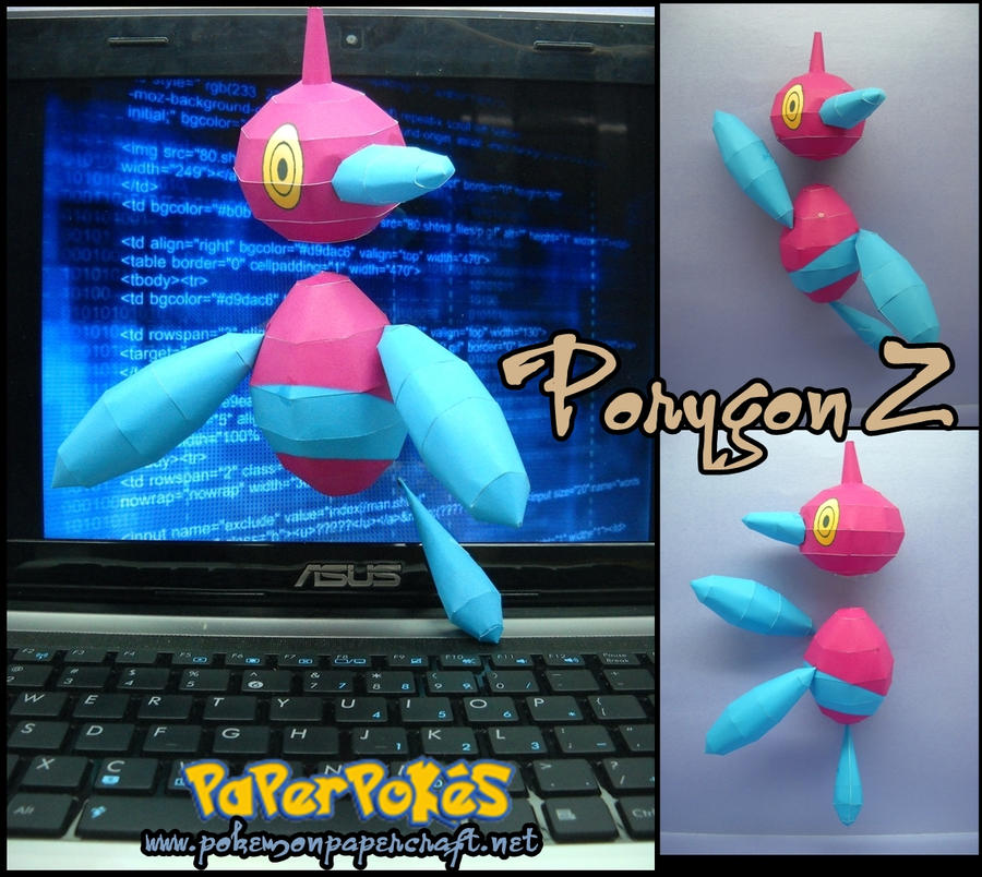 Porygon Z by Toshikun