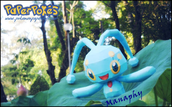Manaphy - Over the lotus