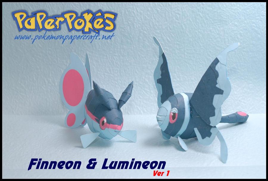 Finneon and Lumineon ver 1 by Toshikun