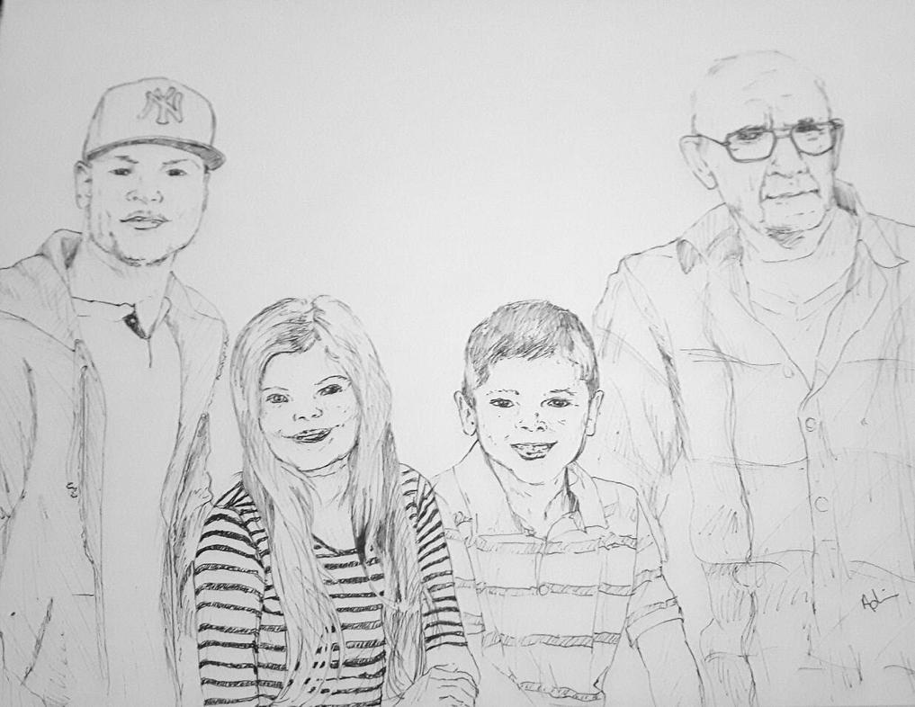 Family Portrait by adriennefaye