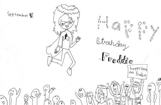 Happy Birthday To Freddie