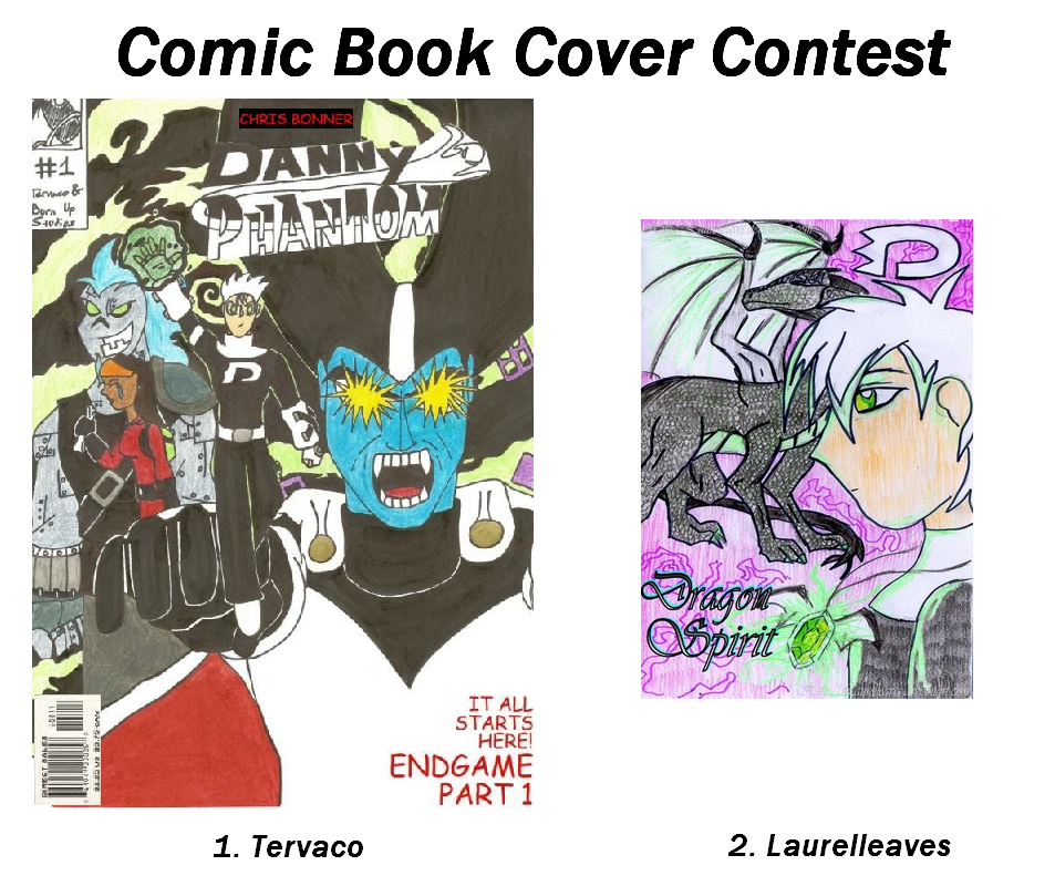 Book Cover Art Contest : Contest comic book cover by dp fanclub on deviantart