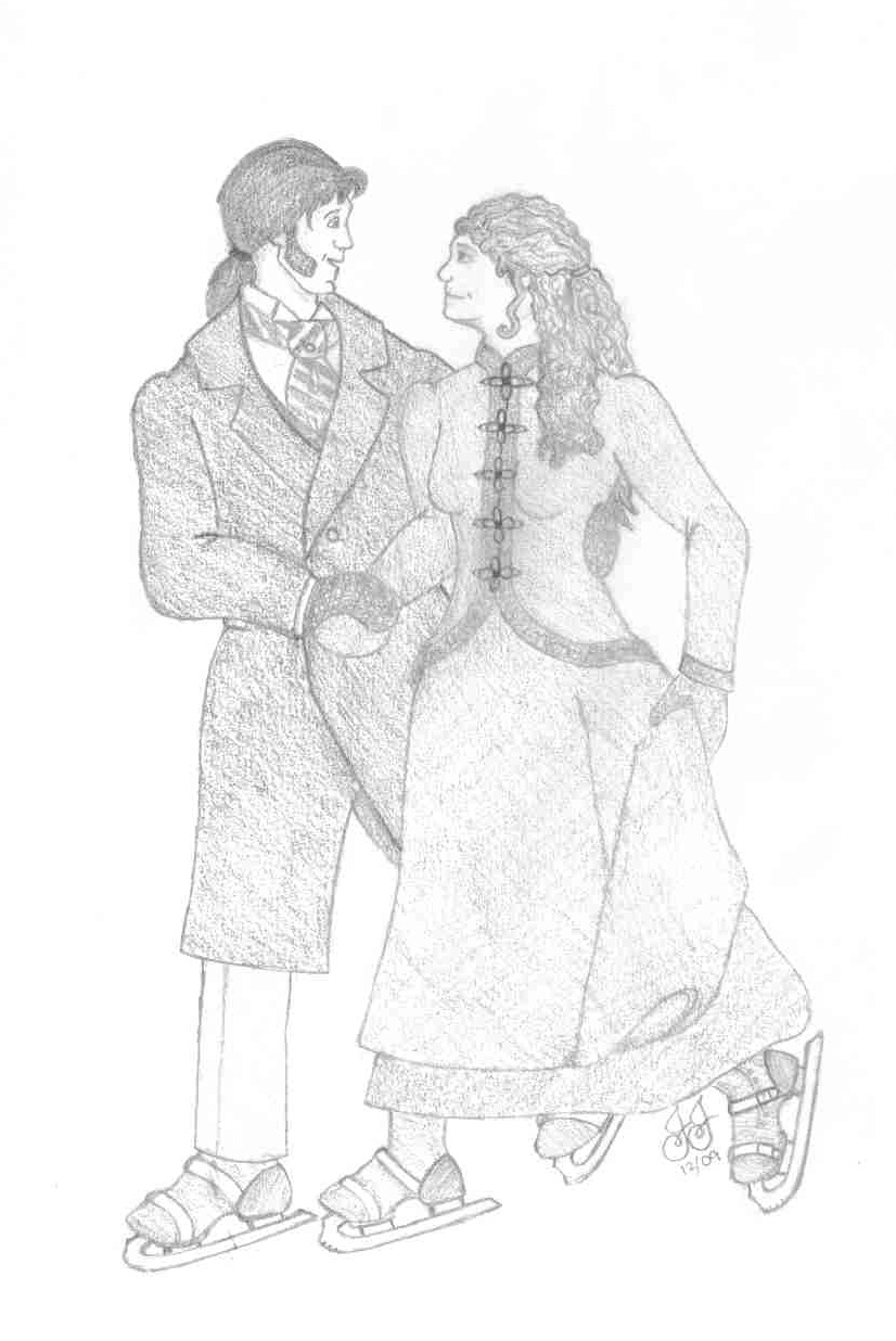 Victorian christmaas free colouring pages for Victorian christmas coloring pages