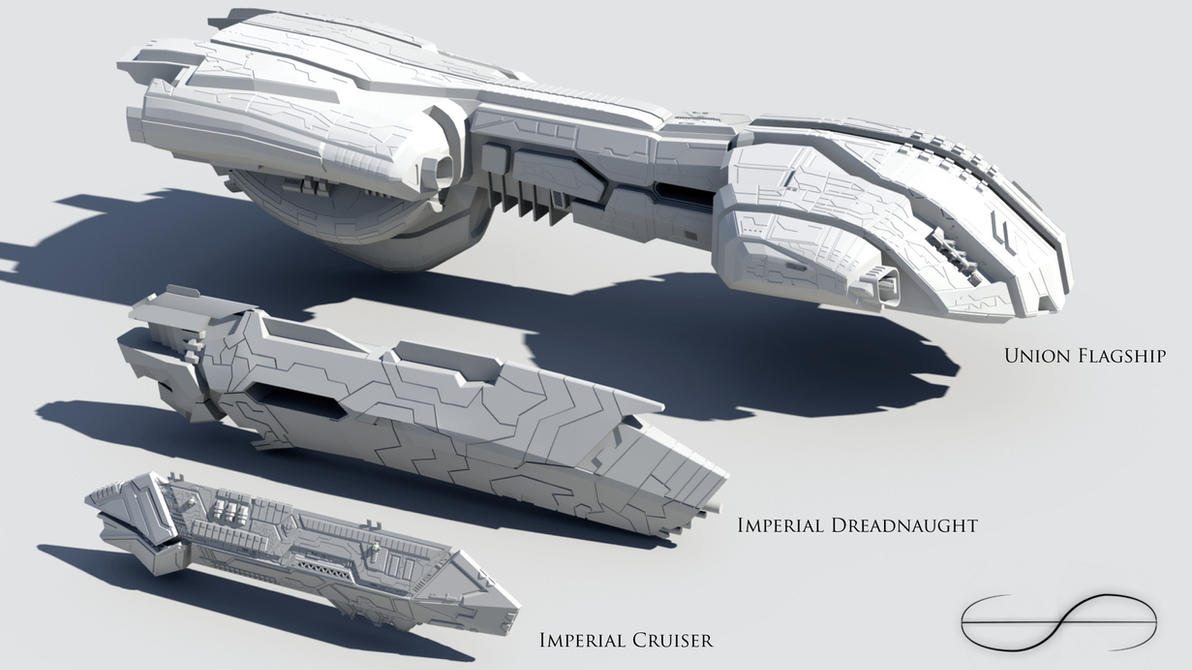 Ship Lineup by DrMan