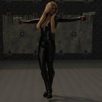 Love me in Black by boggo2300
