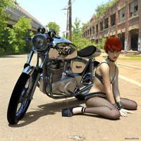 Analeine Cafe to Cafe by boggo2300
