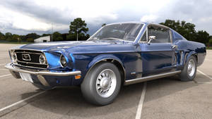 1968 Ford Mustang GT 390 Fastback WIP by boggo2300