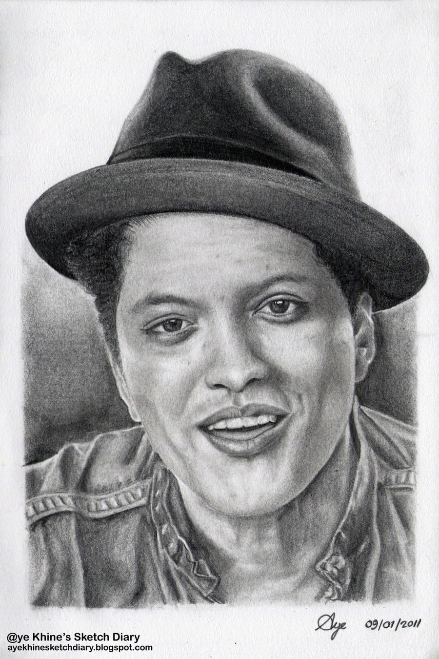 Bruno Mars by ayekhine