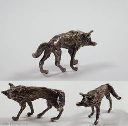 bronze coyote