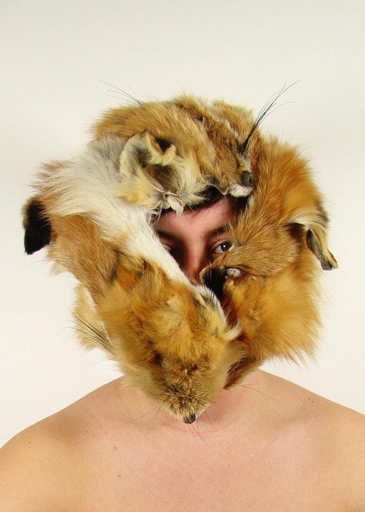 Fox Mask by wylieblais