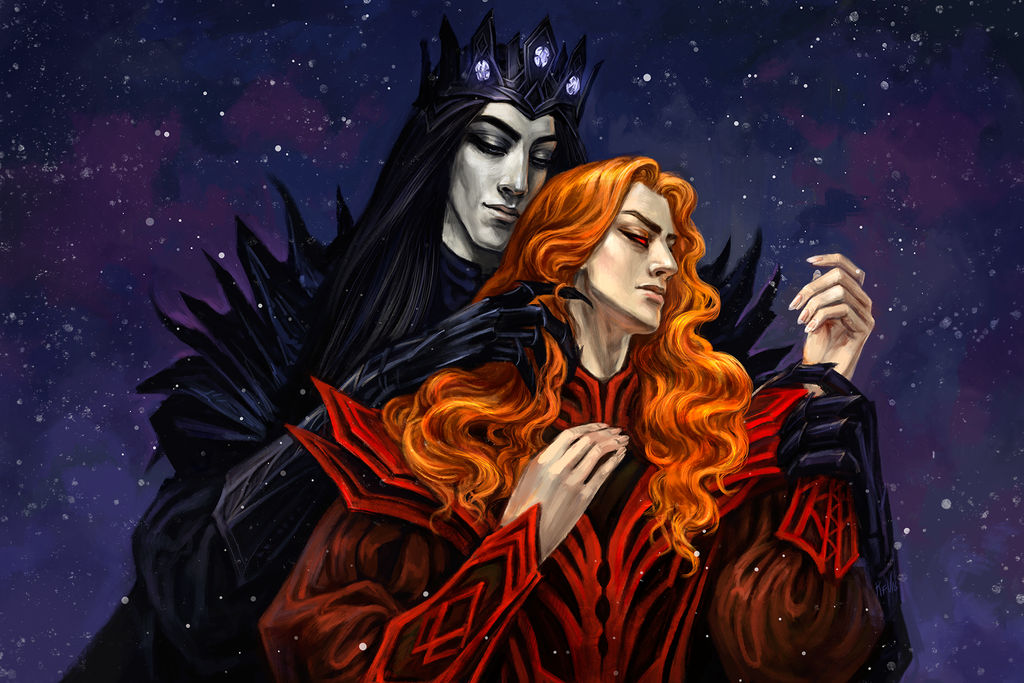 Melkor And Sauron by Rami-fon-Verg