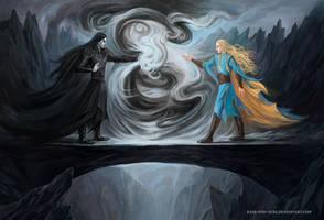 Finrod and Sauron