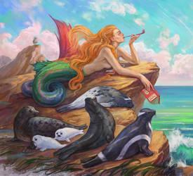 Mermaid artbook (page1) by Rami-fon-Verg