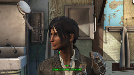Roxane Fallout 4  V2 Detail by Foxtail42