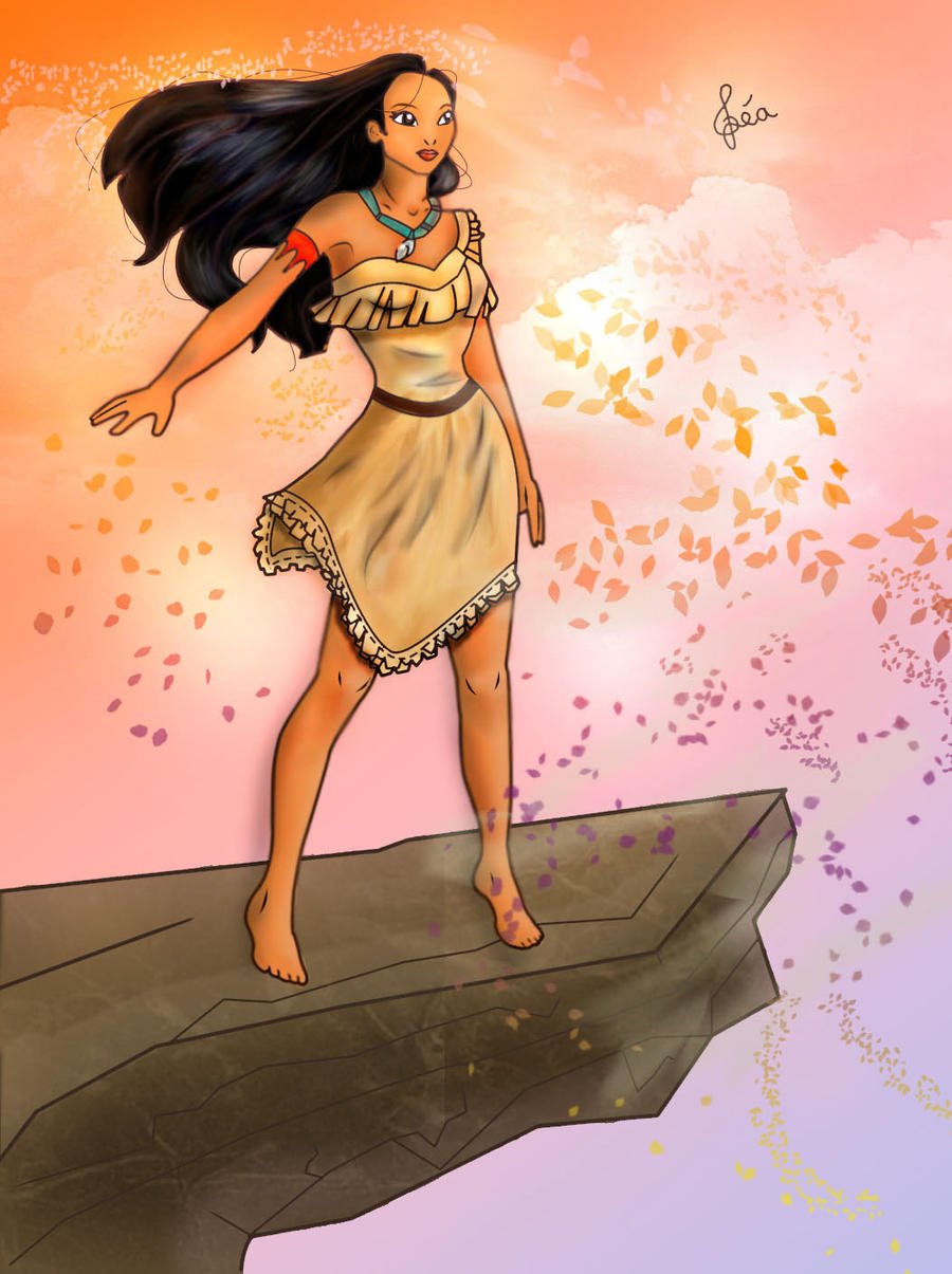 Pocahontas by Lubie-Lu