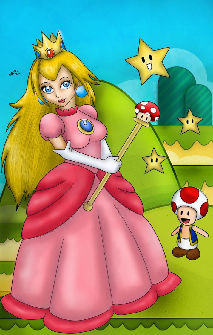 Princess Peach by Lubie-Lu