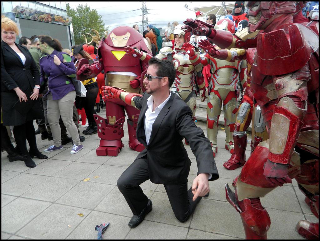 Tony Stark's Suits by MJ-Cosplay on DeviantArt Tony Stark Cosplay