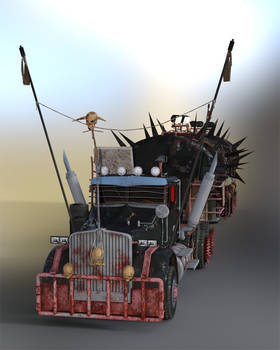 Post Apocalyptic Truck preview