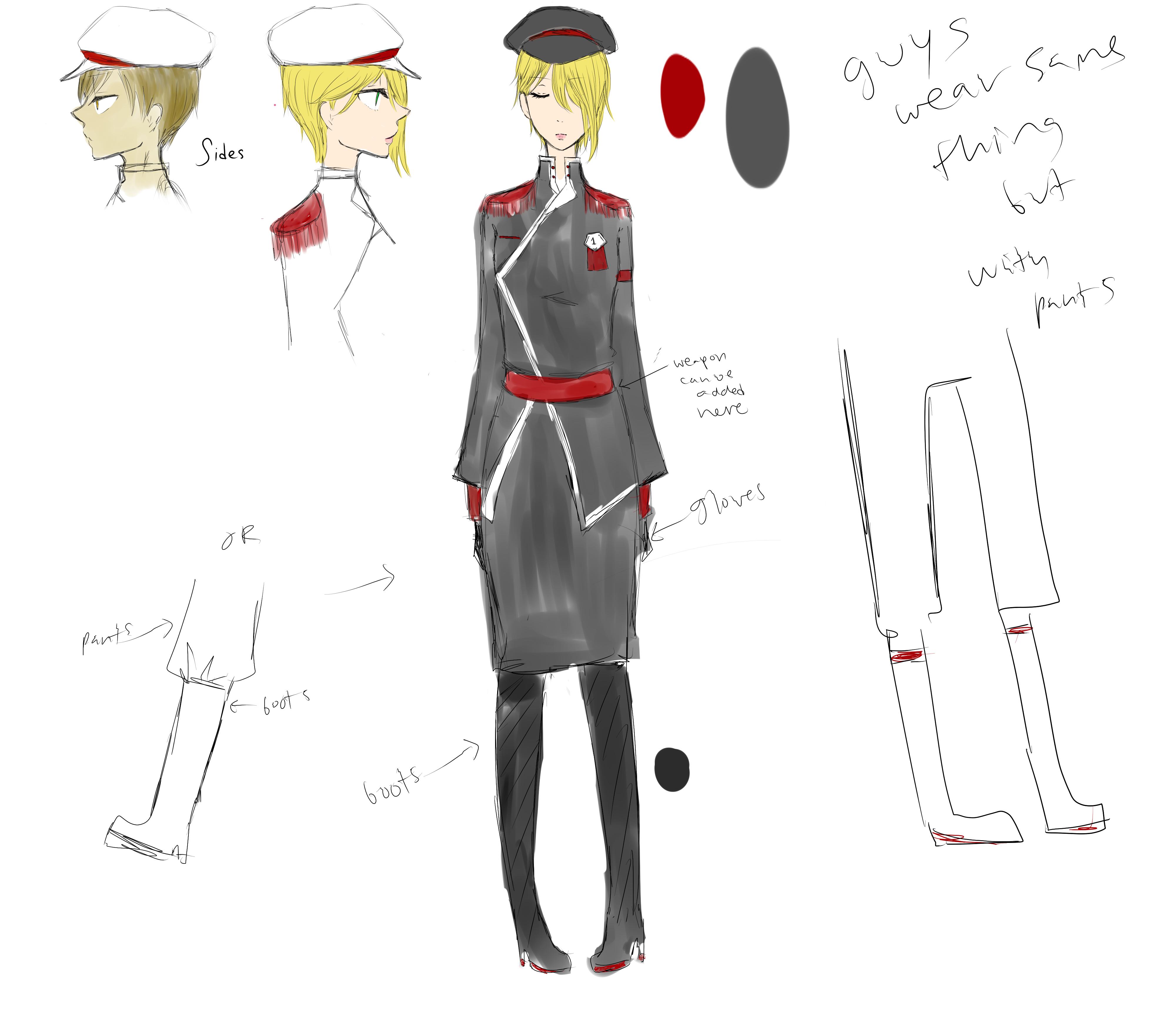 Army Uniform Design 104