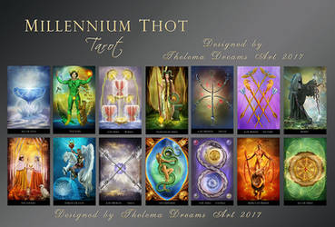 MILLENNIUM THOT Tarot by ThelemaDreamsArt