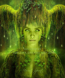 Forest Spirit by ThelemaDreamsArt