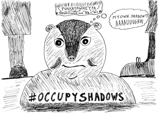 Groundhog Day cartoon