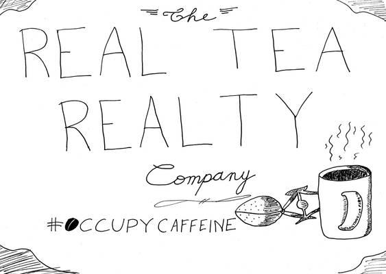 The Real Tea Realty Company cartoon