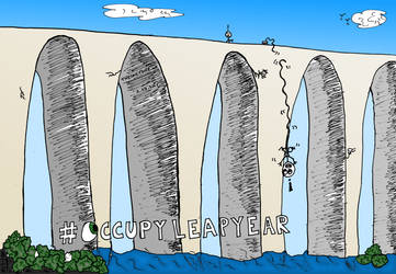 OccupyLeapYear cartoon by amazingn3ss