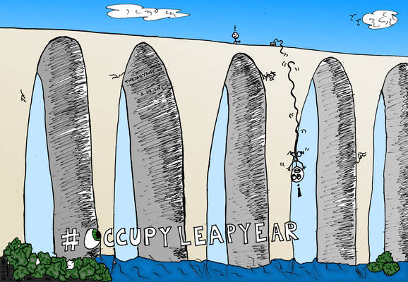 OccupyLeapYear cartoon