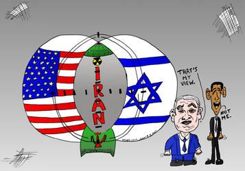 Nuclear Iran cartoon by amazingn3ss