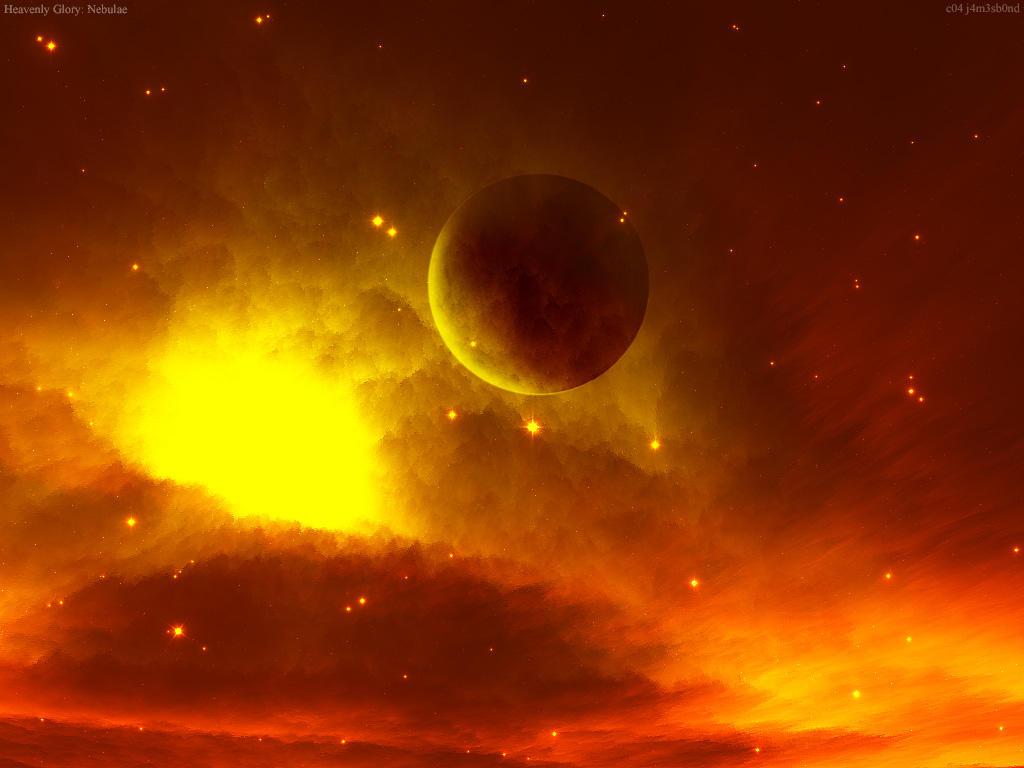 Heavenly Glory: Nebulae by cosmicbound