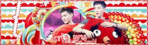 Welcome back - Wu Yi Fan